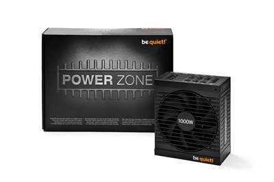 Napajalnik 650W, BE QUIET Power zone, 80 PLUS Bronze (88%), APFC, modularni, 135mm vent