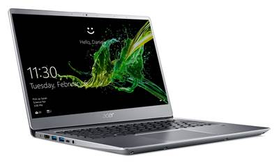 "Prenosnik ACER Swift 3 SF314-54-P5CD / 4417U (2,3GHz), 4GB, 128GB SSD m.2, 14"" FHD, Windows 10 s, srebrna"