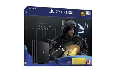 Igralna konzola SONY PlayStation 4 Pro, 1TB set + Death Stranding