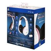 Slušalke 4GAMERS PS4, gaming, Rose Gold Edition - Abstract white