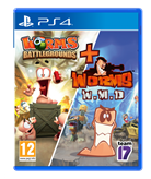 Igra za PS4, WORMS BATTLEGROUNDS + WORMS WMD DOUBLE PACK