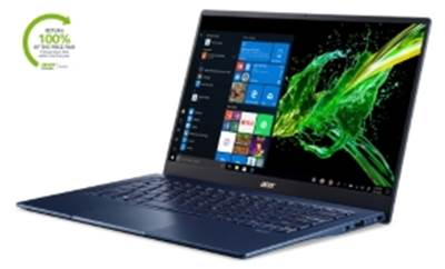 "Prenosnik ACER Swift 5 Pro SF514-54T-76KJ / i7-1065G7 (1,3GHz), 16GB, 512GB SSD m.2, 14"" FHD IPS touch, Windows 10 Professional, modra"
