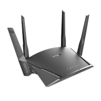Router D-LINK DIR-1960, Wireless AC1900 Dual Band GB Cloud router, 4-port, McAfee zaščita, Voice Control, 802.11b/g/n/ac + 1 WAN port, brezžični