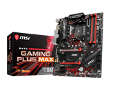 Osnovna plošča MSI B450 Gaming Plus Max, s. AM4, AMD Ryzen 1. - 3. Gen., 4xRAM do 2667 (do 4133MHz OC), DVI, HDMI, ATX