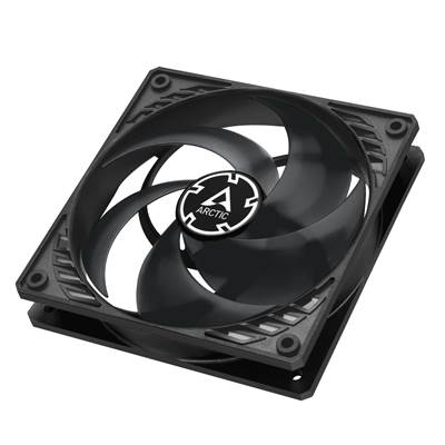 Ventilator ARCTIC P12 PWM PST, 120mm, 1800 obr/min, black/transparent