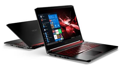 "Prenosnik ACER Nitro AN517-51-70LA / i7-9750H (2,6GHz), 16GB, 256GB SSD NVMe + 1TB HDD, GeForce 1660 Ti 4GB, 17,3"" FHD IPS 144Hz, Windows 10, črna-rdeča"