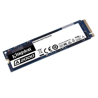 SSD disk 1TB KINGSTON A2000 SA2000M8/1000G, M.2/NVMe, 2280, maks 2200/2000 MB/s