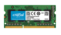 Pomnilnik SO-DIMM, 4GB, CRUCIAL, CT4G3S1339M, DDR3 1333MHz