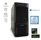Računalnik ALFA PF7 / Intel i5 9500F, 8GB, 500GB SSD + 1TB HDD, GeForce GTX 1650 4GB, Windows 10