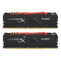 Pomnilnik PC-21300, 16 GB, KINGSTON HyperX Fury RGB HX426C16FB3AK2/16 DDR4 2666MHz, kit 2x8GB