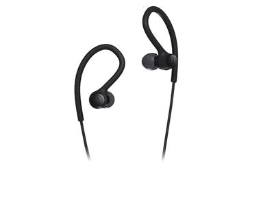 Slušalke AUDIO-TECHNICA ATH-SPORT10, in-ear, črne