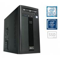 Računalnik MEGA 2000 / i3-8100 (3.60GHz), 8GB, 240GB SSD, Windows 10, Office 365 Personal, Kaspersky Antivirus