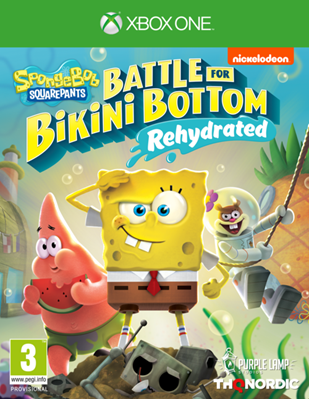 Igra za XONE, SPONGEBOB SQUAREPANTS: BATTLE FOR BIKINI BOTTOM - REHYDRATED
