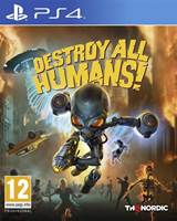 Igra za PS4, DESTROY ALL HUMANS!