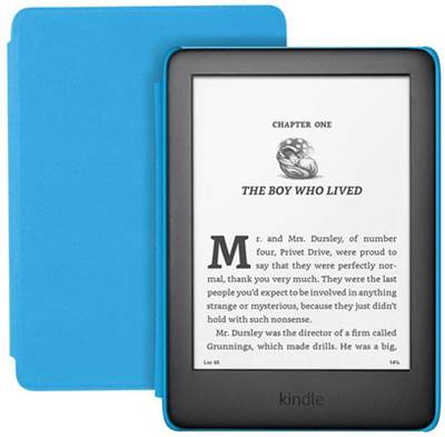 "E-bralnik Kindle Kids Edition, 6"" 8GB WiFi, 167dpi, moder ovitek"