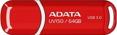 USB ključ 3.0 FLASH DRIVE 64 GB, ADATA UV150 Red AD, AUV150-64G-RRD, rdeča