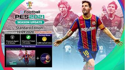 Igra za PS4, EFOOTBALL PES 2021 SEASON UPDATE