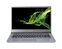 "Prenosnik ACER Swift 3 / R5-3500U (2,1GHz), 8GB, 512GB SSD NVMe, 35,56cm (14"") IPS FHD, Windows 10, srebrna"