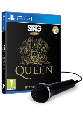 Igra za PS4, LET'S SING: QUEEN - SINGLE MIC BUNDLE (1 mikrofon)