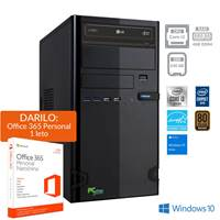 Računalnik PCPLUS e-office / i3-10100 (3,6/4,3GHz), 8GB, 240GB SSD, Win 10 + Office 365 Personal