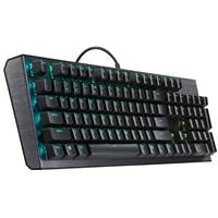 Tipkovnica COOLERMASTER CK550 Gaming (Red Switch), mehanska, RGB, slo layout, USB, črna