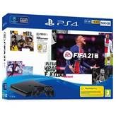 Igralna konzola SONY PlayStation 4, 500GB set + Igra FIFA 21/dodatni DS4 kontroler