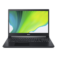 "Prenosnik ACER Aspire 7 NH.Q8LEX.00F / R5-3550H (2,1GHz), 8GB, 512GB SSD, GeForce GTX 1650 4GB, 39,6 cm (15.6"") IPS FHD, Windows 10, črn"