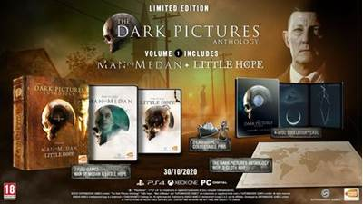 Igra za PS4, THE DARK PICTURES ANTHOLOGY: VOLUME 1 - LIMITED EDITION
