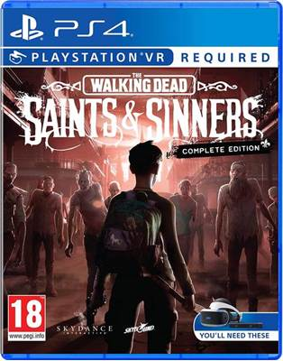 Igra za PS4, THE WALKING DEAD: SAINTS & SINNERS - COMPLETE EDITION VR