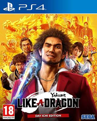 Igra za PS4, YAKUZA: LIKE A DRAGON - DAY ICHI EDITION
