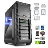 Računalnik PCPLUS Dream machine / i7-10700 2,9/4,8GHz, 32GB, 500GB SSD NVMe + 2TB HDD 7200obr./min, Geforce RTX 3070 8GB, FreeDOS