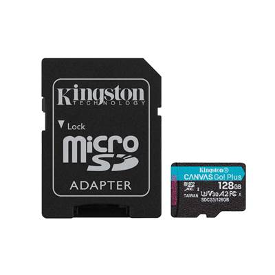 Spominska kartica KINGSTON Canvas Go Plus Micro SDCG3/256GB, SDXC 256GB, Class 10 UHS-I + adapter