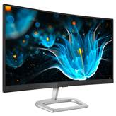 "Monitor 59,94 cm (23.6"") PHILIPS 248E9QHSB, VA, FHD, 75Hz, 4ms, 250cd/m2, curved, črn"