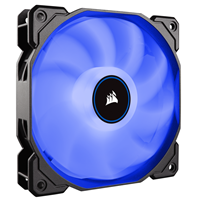 Ventilator CORSAIR AF120 LED Blue, 120mm, 1400 obr./min