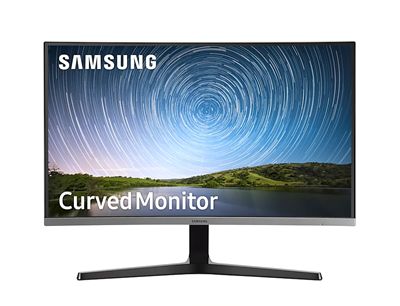 "Monitor SAMSUNG 68,58 cm (27"") LC27R500FHUXEN, 4ms, 250cd/m2, curved, siv"