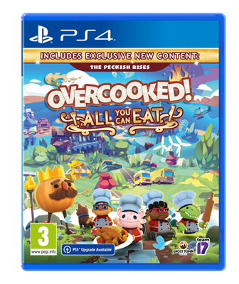 Igra za PS4, OVERCOOKED: ALL YOU CAN EAT