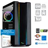 Računalnik PC PLUS GAMER / R5-5600X (3,7/4,6 GHz), 16GB, 512GB SSD + 1TB HDD, Radeon RX 6700 XT 12GB, Windows 10, črn + 1 leto Microsoft 365