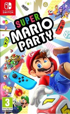 Igra za NS, SUPER MARIO PARTY