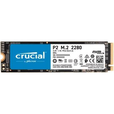 SSD disk 1TB CRUCIAL P2 M.2 NVMe, 2400/1800 MB/s